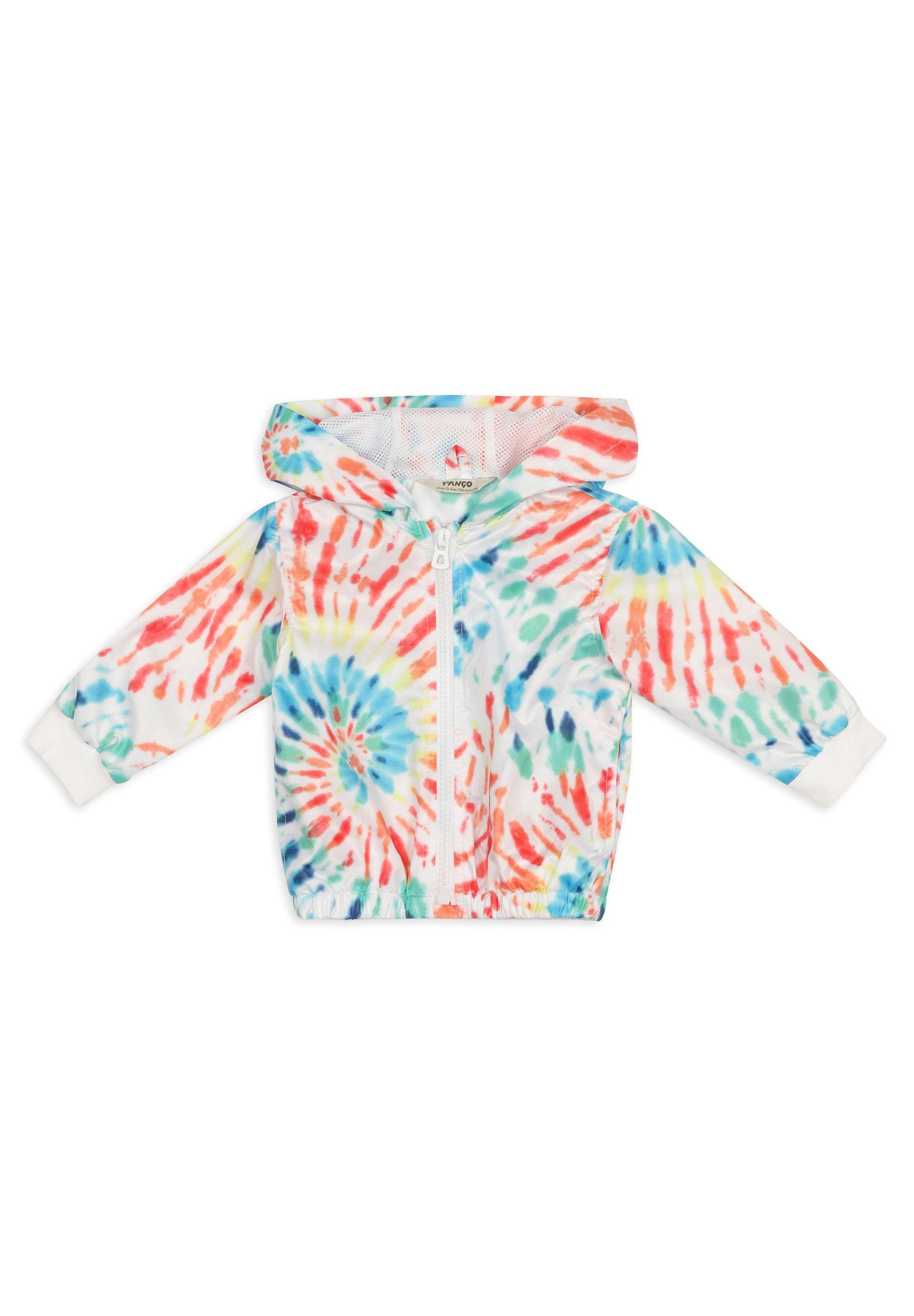 Kinder MIT BATIKMUSTER - Regenjacke / wasserabweisende Jacke