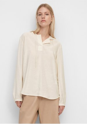Blouse - shaded sand
