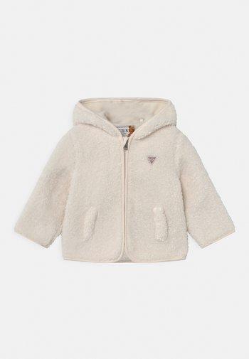 HOODED UNISEX - Winter jacket - salt white
