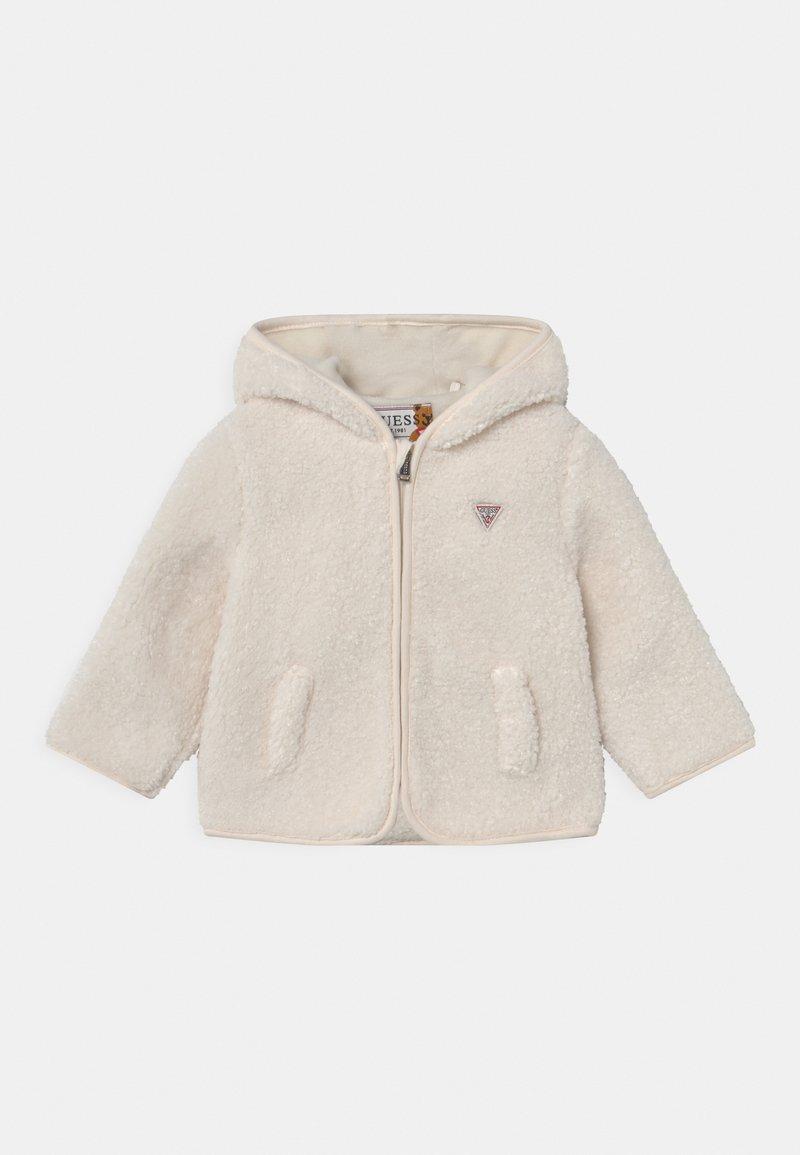 Guess - HOODED UNISEX - Winter jacket - salt white