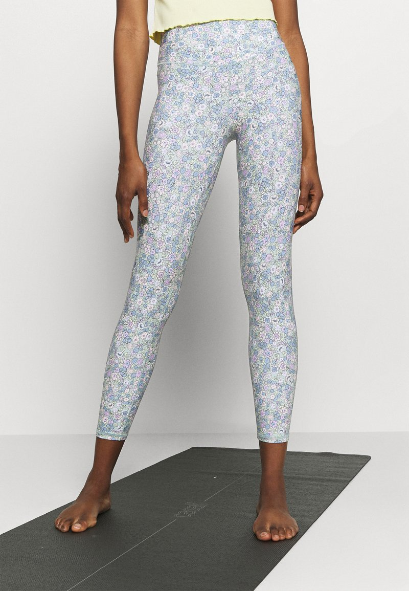 Cotton On Body - STRIKE A POSE YOGA - Leggings - mint