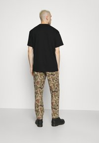 Weekday - OVERSIZED UNISEX  - T-shirt med print - black - 3