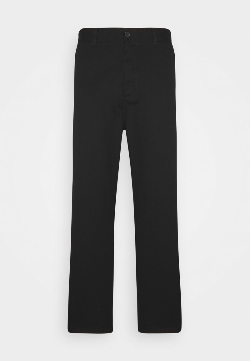 Carhartt WIP - MENSON PANT GRIFFIN - Chinot - black rinsed