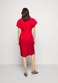 Lauren Ralph Lauren - LUXE TECH DRESS - Denní šaty - orient red - 2