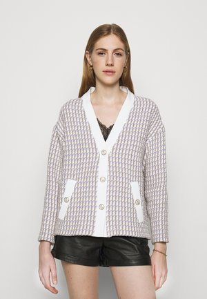 VIDO - Summer jacket - ecru/parme