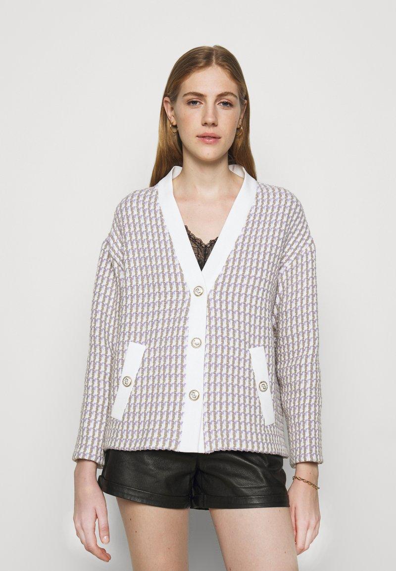 maje - VIDO - Lehká bunda - ecru/parme