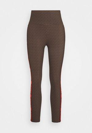 MINI DOT - Leggings - Trousers - chocolate