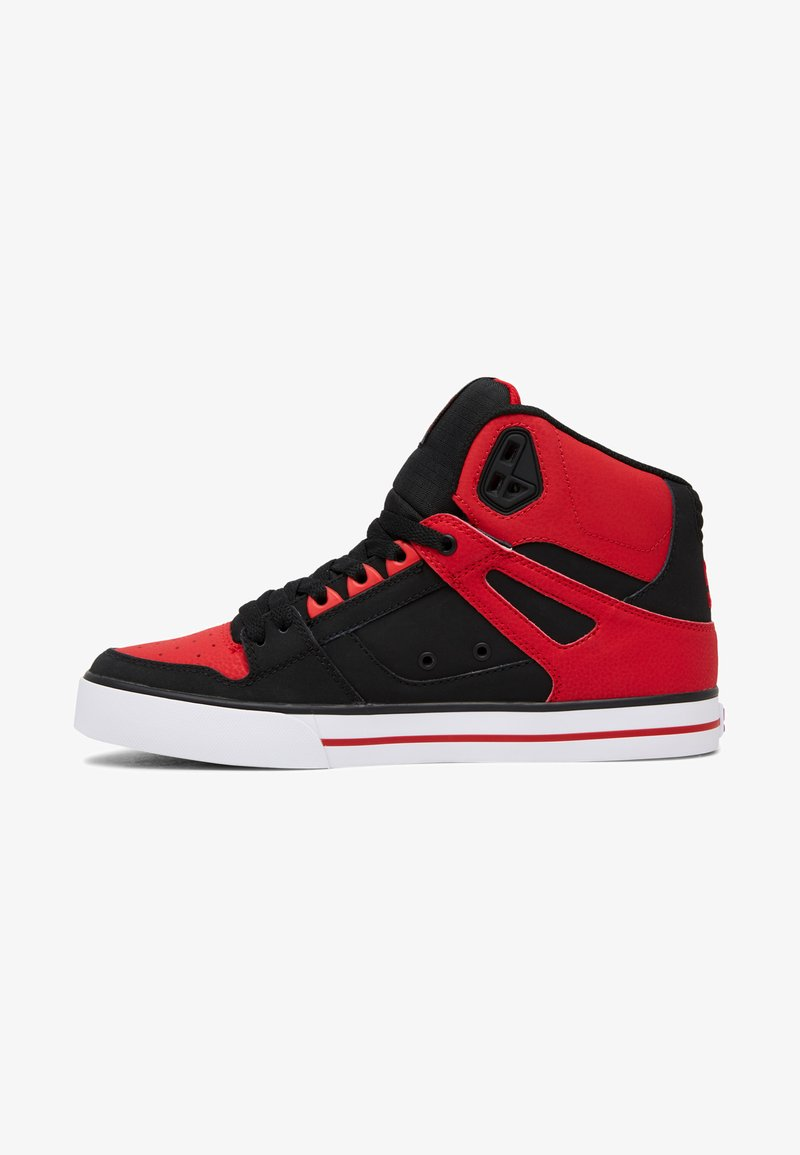 DC Shoes - PURE - Skate shoes - fiery red/white/black