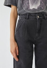 PULL&BEAR - Jeans Relaxed Fit - black - 4
