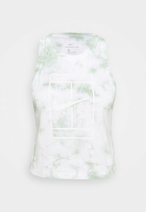TANK HERITAGE DYE - Top - white/steam