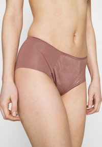Triumph - ESSENTIAL MINIMIZER HIPSTER - Pants - rose brown - 1