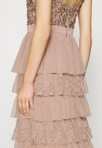 Maya Deluxe - CAMI TIERED MAXI DRESS WITH DETAIL - Occasion wear - taupe blush - 5