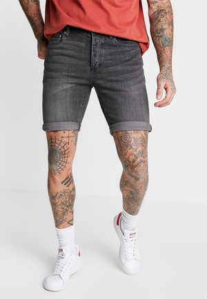CHARLIE  - Szorty jeansowe - washed black