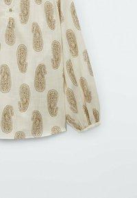 Massimo Dutti - MIT PAISLEYPRINT  - Blouse - beige - 3