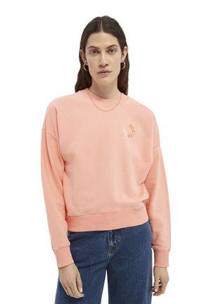 LOOSE FIT CREW NECK - Sweater - flamingo pink