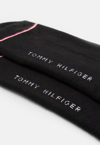 Tommy Hilfiger - MEN ICONIC QUARTER  2 PACK - Chaussettes - black - 1