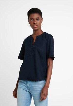 BLOUSE EASY SHAPE - Bluse - blue denim