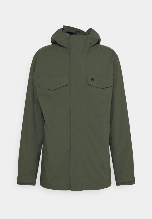 BEAGLE JACKET - Outdoorjas - thyme