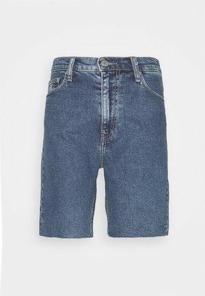 MOM - Denim shorts - light blue