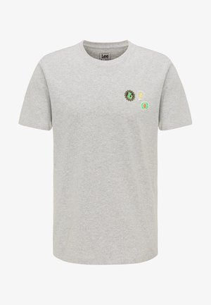 SUMMER LOGO - Print T-shirt - grey mele