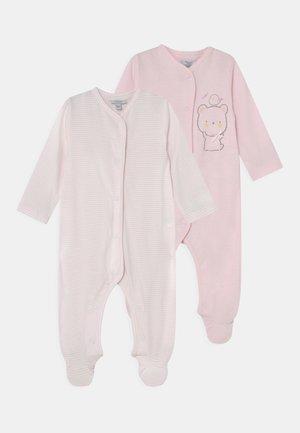 NEWBORN GIRL 2 PACK - Sleep suit - heavenly pink