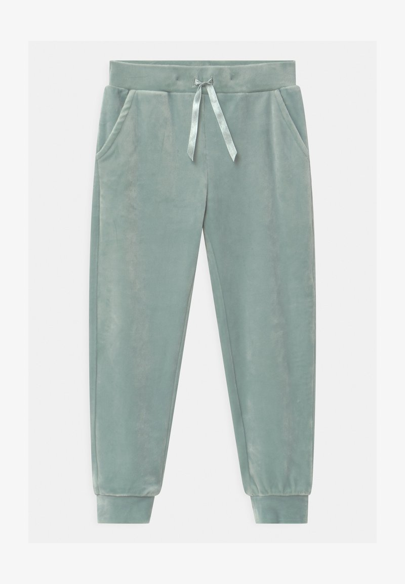 Lindex - MINI - Teplákové kalhoty - light dusty turquoise