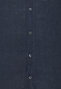 120% Lino - SLIM FIT - Košile - blue navy - 6