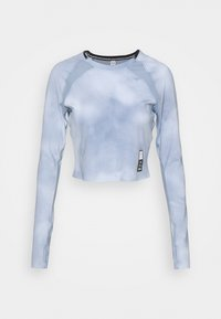Under Armour - RUN ANYWHERE CROPPED - Long sleeved top - isotope blue - 4