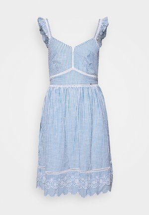 GIA CAMI DRESS - Denní šaty - blue