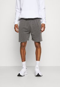 BDG Urban Outfitters - JOGGER UNISEX - Shorts - black - 0