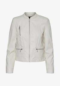 Vero Moda - Faux leather jacket - birch - 4