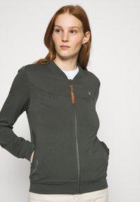 Ragwear - KENIA - Mikina na zip - green - 3