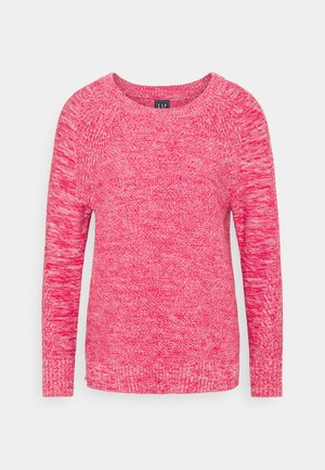 TEXTURED CREW  - Jumper - misty rose