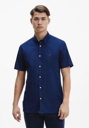 GRID DOBBY - Shirt - carbon navy