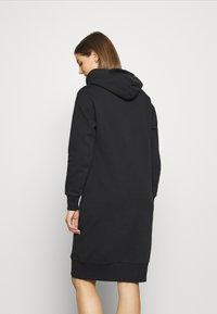 Converse - STAR CHEVRON DRESS - Kjole - black - 2