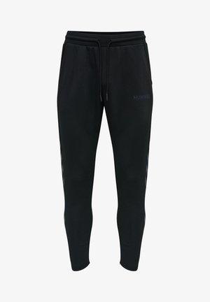 LEGACY POLY TAPERED - Spodnie treningowe - black