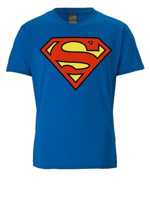 SUPERMAN - Print T-shirt - blau