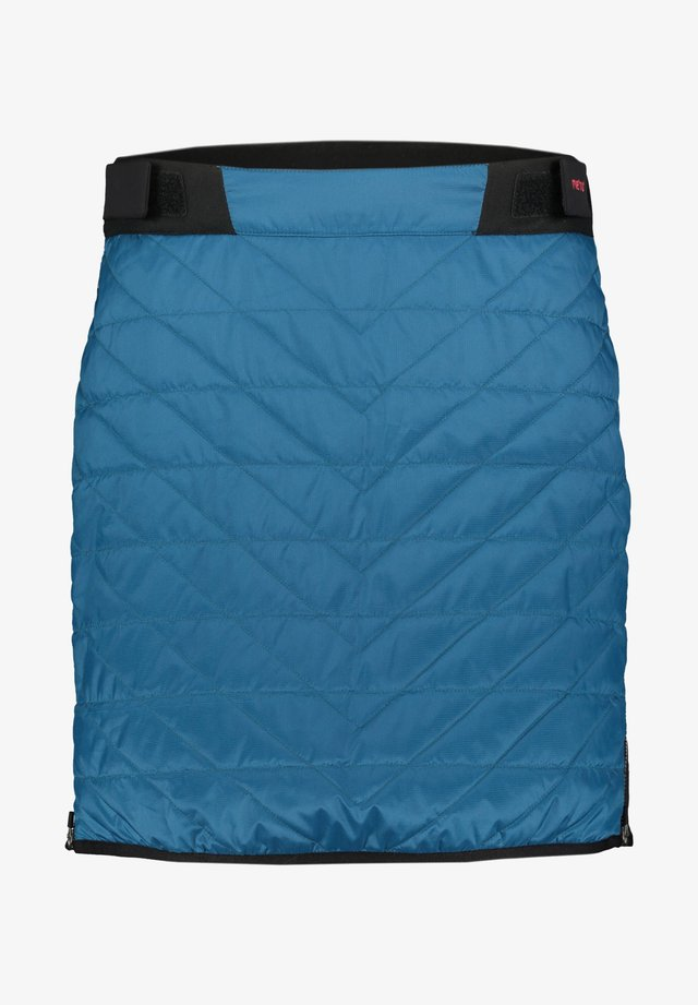 A-line skirt - petrol