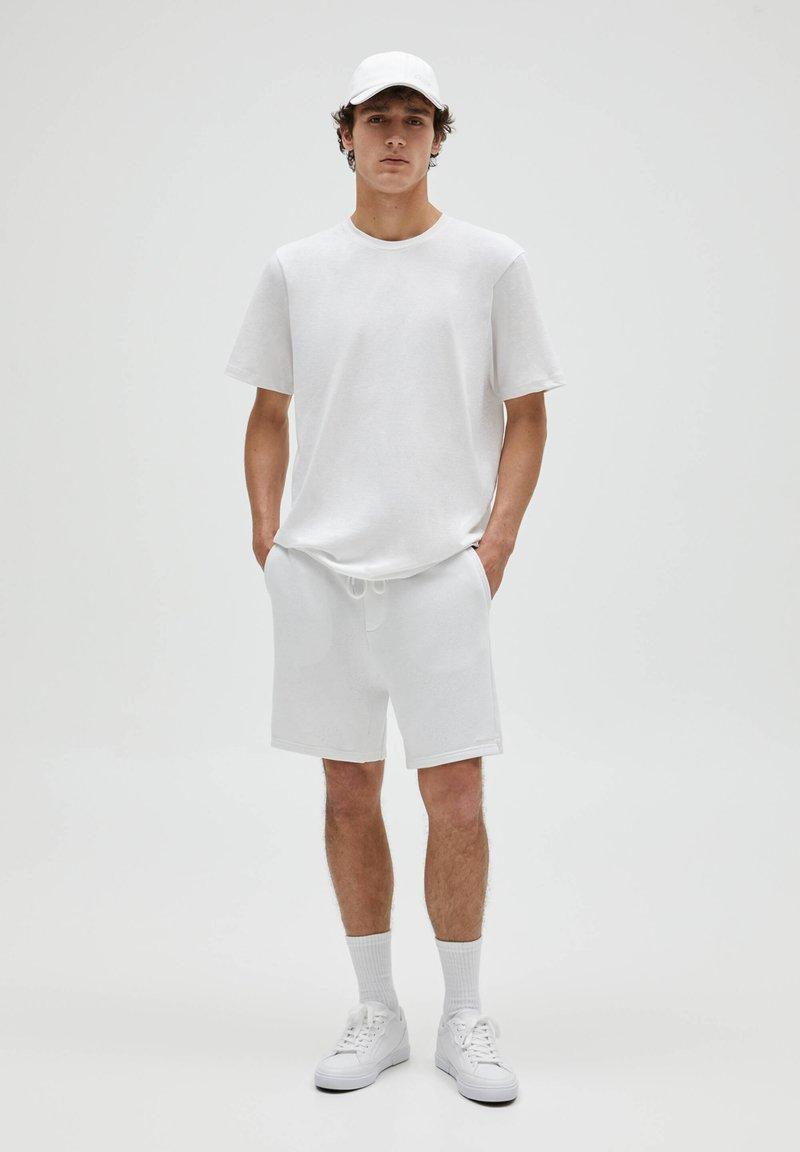 PULL&BEAR - 3 PACK - T-shirt - bas - off-white