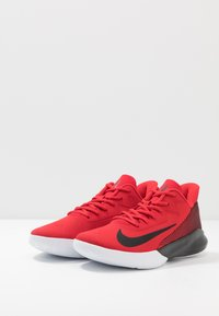 Nike Performance - PRECISION 4 - Basketball shoes - university red/black/white - 2