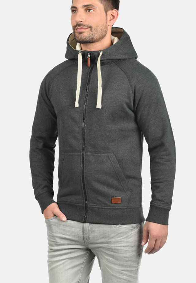 SPEEDY - Zip-up hoodie - charcoal
