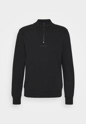 LOGO MOCKNECK UNISEX - Sweatshirt - black
