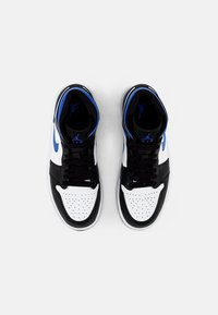 Jordan - AIR 1 MID - Korkeavartiset tennarit - white/racer blue black - 3