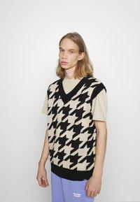 Vintage Supply - VEST - Pullover - beige - 0