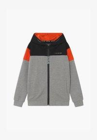 Cars Jeans - KIDS TROCADERO HOOD - Zip-up hoodie - grey - 0