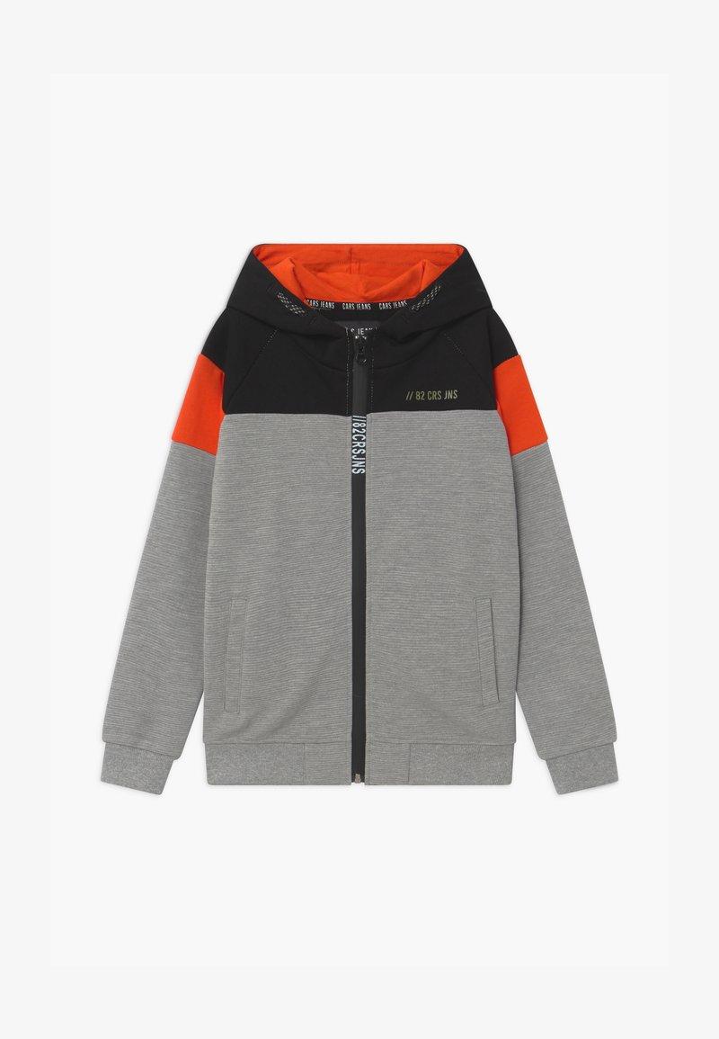 Cars Jeans - KIDS TROCADERO HOOD - Zip-up hoodie - grey
