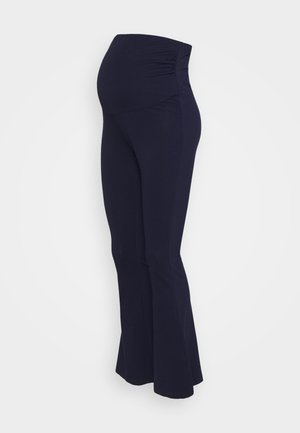FLARED  - Leggings - Trousers - dark blue
