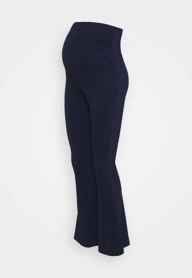 FLARED  - Leggings - dark blue