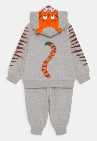 Converse - CREATURE HOODIE SET - Zip-up hoodie - dark gray heather/black