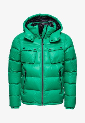 MOUNTAIN - Down jacket - bright green